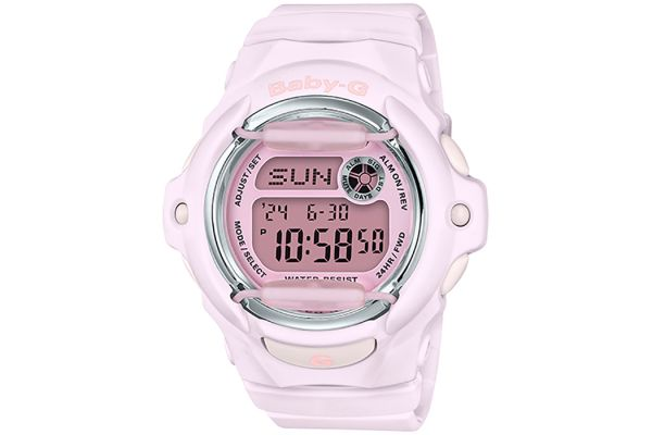 Large image of G-Shock Baby-G Pink BGA-169 Series Womens Watch - BG169M-4
