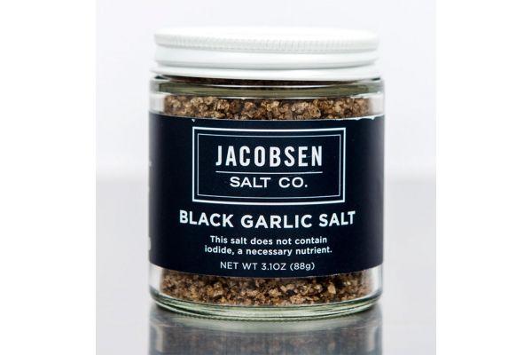 Large image of Jacobsen Salt Co. Infused Black Garlic Salt - BG4
