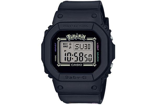 G-Shock BABY-G Digital Black 25th Anniversary Pokemon Womens Watch - BGD560PKC-1