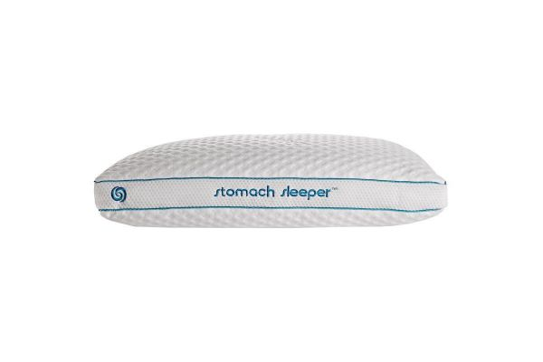 Large image of Bedgear Position Stomach Sleeper Performance Pillow - BGP054WSQ