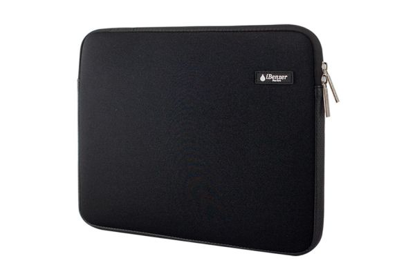 "iBenzer Black 13.3"" Deluxe Neoprene Laptop Sleeve Bag Cover Case - BH-MP13BK"