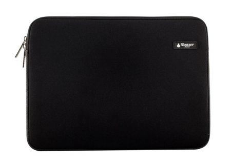 "iBenzer Black 15.4"" Deluxe Neoprene Laptop Sleeve Bag Cover Case - BH-MP15BK"