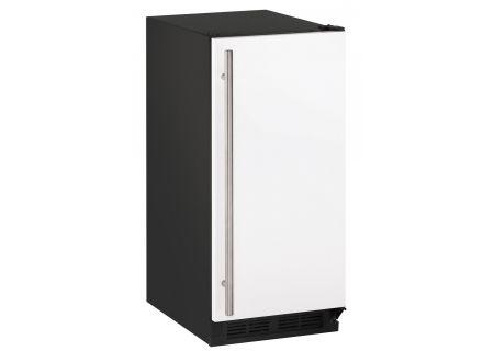 "U-Line 15"" White 1000 Series Ice Machine - U-BI1215W-00B"