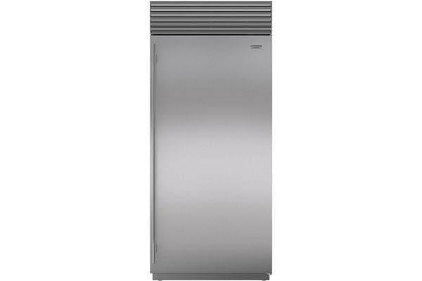 "Large image of Sub-Zero 36"" Stainless Steel Right-Hinge Classic Freezer - BI-36F/S/TH-RH"
