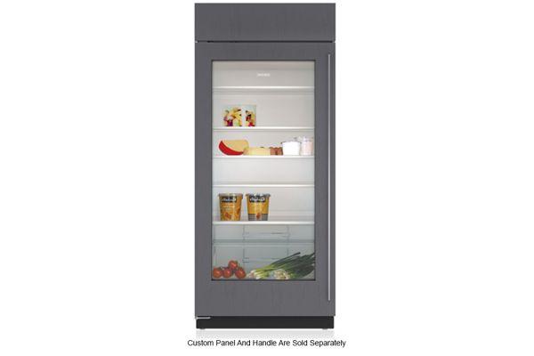 """Large image of Sub-Zero 36"""" Panel Ready Frame Left-Hinge Classic Refrigerator - BI-36RG/O-LH"""