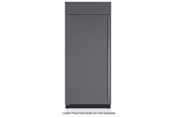 "Large image of Sub-Zero 36"" Panel Ready Left-Hinge Classic Refrigerator - BI-36R/O-LH"