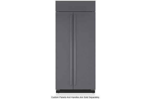 "Large image of Sub-Zero 36"" Panel Ready Classic Side-By-Side Refrigerator - BI-36S/O"