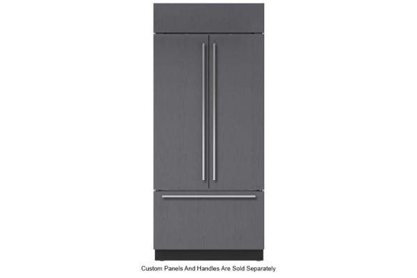 "Large image of Sub-Zero 36"" Panel Ready Classic French Door Refrigerator With Internal Dispenser - BI-36UFDID/O"