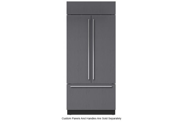 "Large image of Sub-Zero 36"" Panel Ready Classic French Door Refrigerator - BI-36UFD/O"