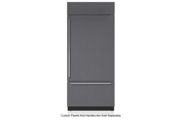 "Large image of Sub-Zero 36"" Panel Ready Right-Hinge Classic Over-And-Under Refrigerator/Freezer With Internal Dispenser - BI36UIDORH"