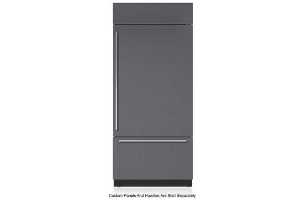 """Large image of Sub-Zero 36"""" Panel Ready Right-Hinge Classic Over-And-Under Refrigerator/Freezer - BI-36U/O-RH"""