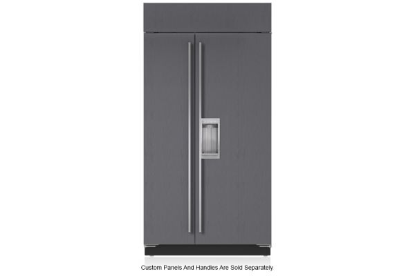 """Large image of Sub-Zero 42"""" Panel Ready Classic Side-By-Side Refrigerator With Dispenser - BI-42SD/O"""