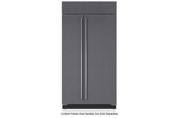 "Large image of Sub-Zero 42"" Panel Ready Classic Side-By-Side Refrigerator - BI-42S/O"