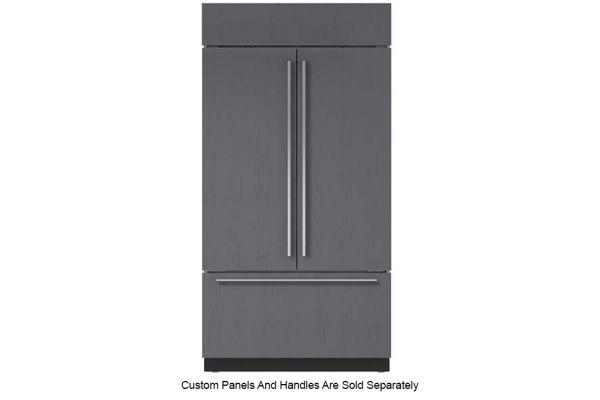 "Large image of Sub-Zero 42"" Panel Ready Classic French Door Refrigerator With Internal Dispenser - BI42UFDIDO"