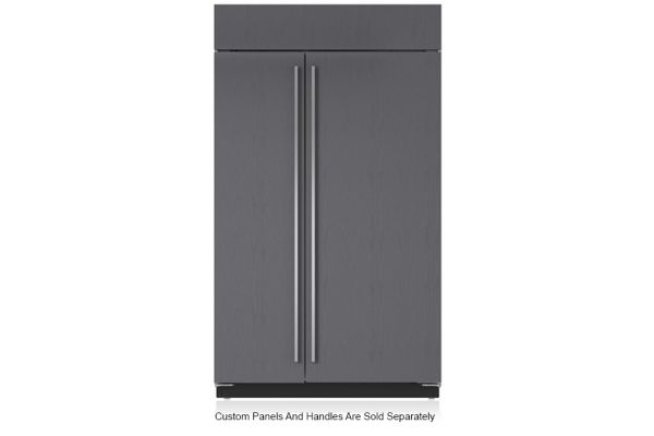 """Large image of Sub-Zero 48"""" Panel Ready Classic Side-By-Side Refrigerator With Internal Dispenser - BI-48SID/O"""