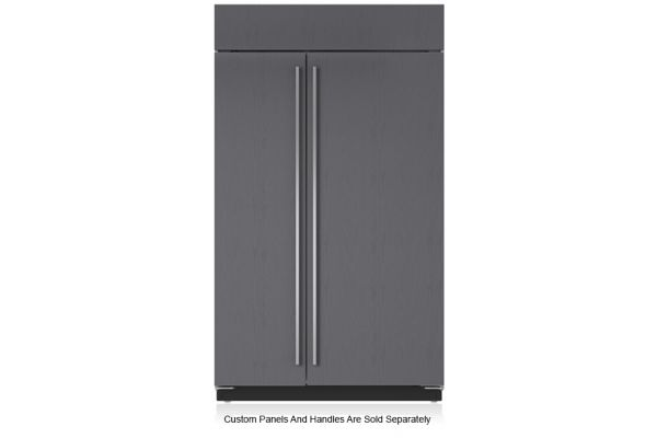 "Large image of Sub-Zero 48"" Panel Ready Classic Side-By-Side Refrigerator - BI-48S/O"
