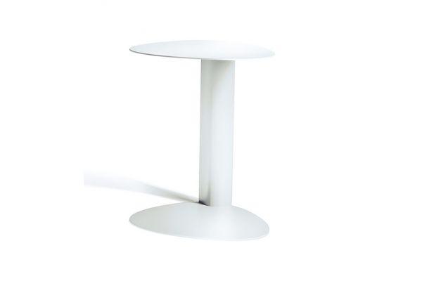 Large image of BDI Bink 1025 Salt Laptop Stand/Side Table - 1025 SA