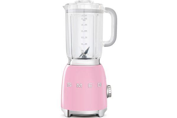 Large image of Smeg 50s Retro Style Pink Blender - BLF01PKUS