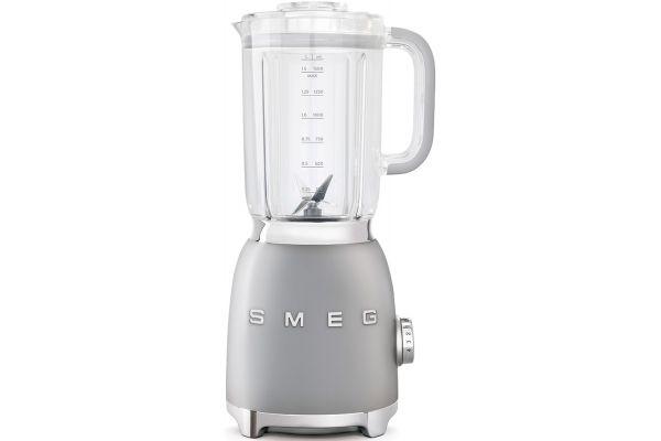 Large image of Smeg 50s Retro Style Silver Blender - BLF01SVUS
