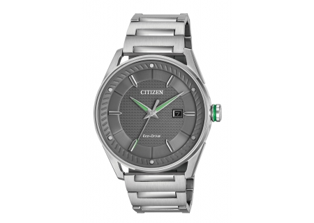 Citizen Eco-Drive CTO Silver-Tone Stainless Steel Mens Watch - BM6980-59H