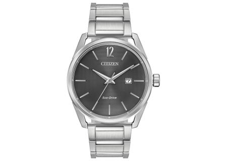 Citizen Eco-Drive Stainless Steel CTO Mens Watch - BM7410-51H