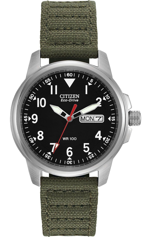 Citizen Eco Drive Military E100 Mens Watch BM818003E