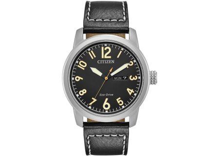 Citizen Eco-Drive Black Chandler Mens Watch - BM8471-01E