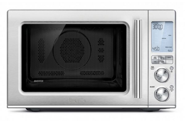 Breville The Combi Wave 3-In-1 Microwave, Oven & Air Fryer - BMO870BSS1BUC1