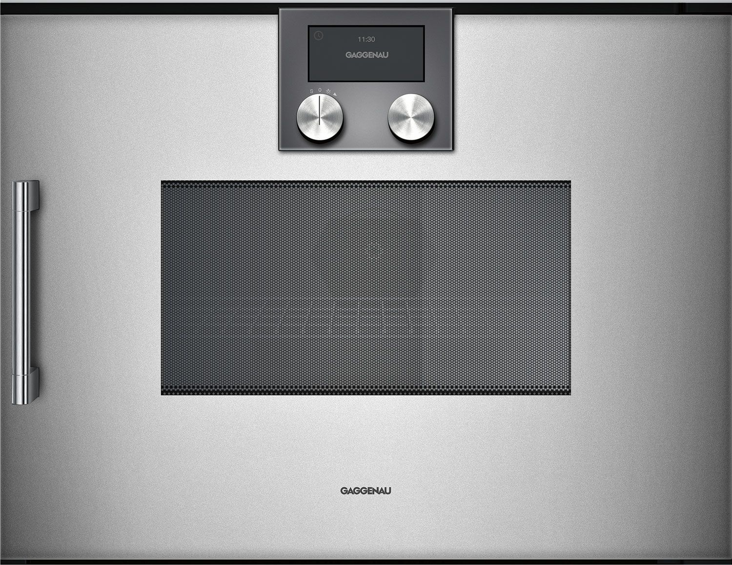 Gaggenau 24 200 Series Gl Front Metallic Sd Microwave Oven Bmp250710