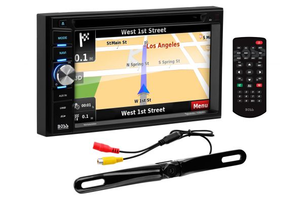 """Large image of BOSS Audio Systems 6.5"""" In-Dash DVD Touchscreen Receiver With Bluetooth - BN965BLC"""