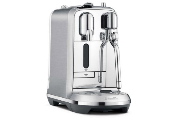Large image of Breville Stainless Steel Creatista Plus Espresso Machine - BNE800BSSUSC