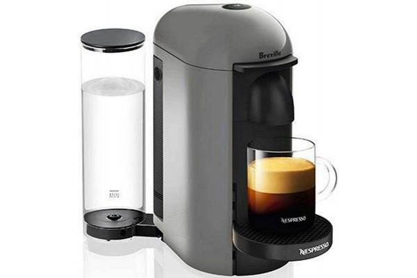 Large image of Breville Nespresso VertuoPlus Deluxe Titan Coffee Maker - BNV420TTN1BUC1