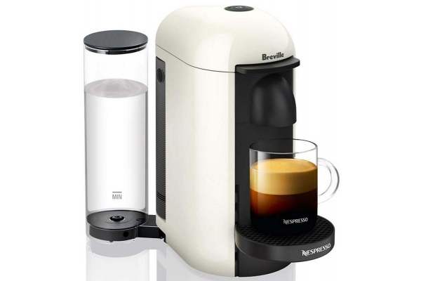 Large image of Breville Nespresso VertuoPlus White Coffee Maker - BNV420WHT1BUC1