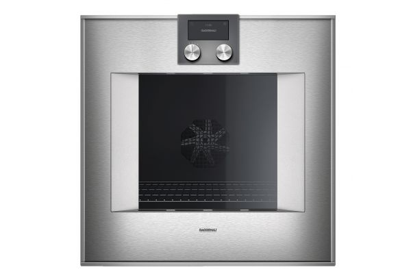 """Large image of Gaggenau 24"""" 400 Series Stainless Steel Smart Electric Single Wall Oven - BO450612"""