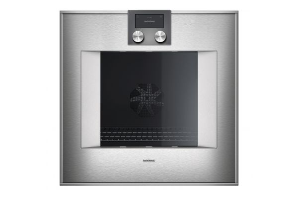 "Gaggenau 24"" 400 Series Stainless Steel Smart Electric Single Wall Oven - BO451612"