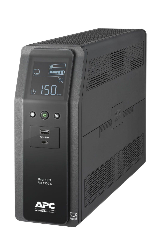 APC Back UPS PRO BR 1500VA Battery Backup And Surge Protector