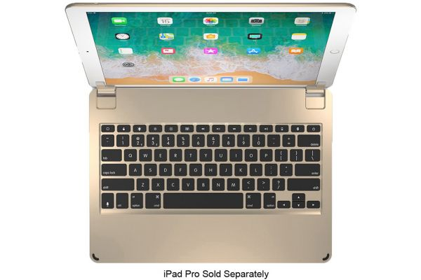 "Brydge 12.9"" Gold Bluetooth Keyboard For iPad Pro - BRY6013"