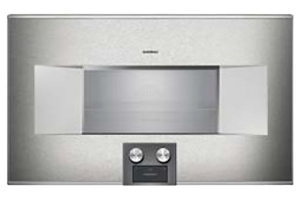 "Large image of Gaggenau 30"" Stainless Steel 400 Series Combi-Steam Oven - BS484612"