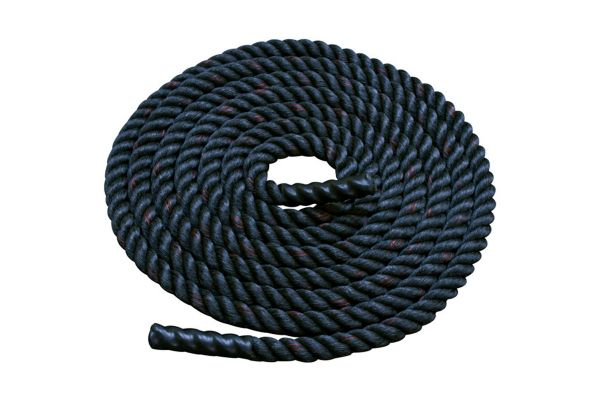 """Large image of Body-Solid 1.5"""" Diameter 30 Ft. Fitness Training Rope - BSTBR1530"""