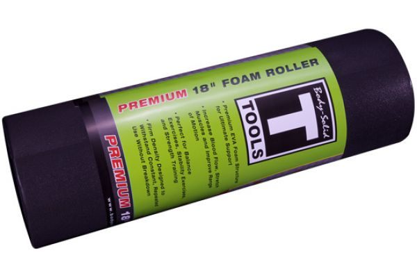 """Large image of Body-Solid 18"""" Premium Foam Roller - BSTFRP18F"""