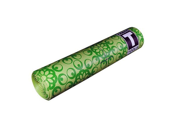 Large image of Body-Solid 6mm Green Yoga Mat - BSTYM10
