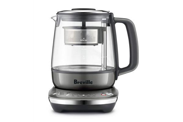 Large image of Breville Silver Smart Tea Maker Compact - BTM700SHY1BUS1