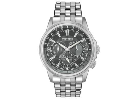 Citizen Eco-Drive Stainless Steel Calendrier Mens Watch - BU2021-51H