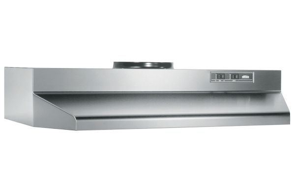 "Large image of Broan 30"" Stainless Steel Under-Cabinet Range Hood - BUEZ230SS"