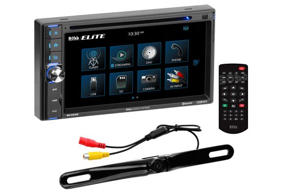 """Large image of BOSS Audio Systems 6.5"""" In-Dash DVD Touchscreen Receiver With Bluetooth - BV765BLC"""