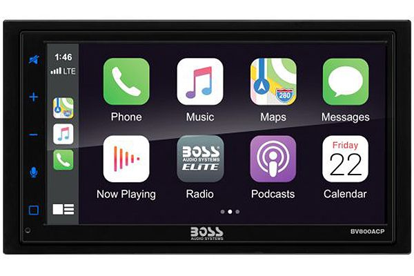 "Large image of BOSS Audio Systems Elite 6.75"" Mech-Less AV Receiver With Bluetooth - BV850ACP"