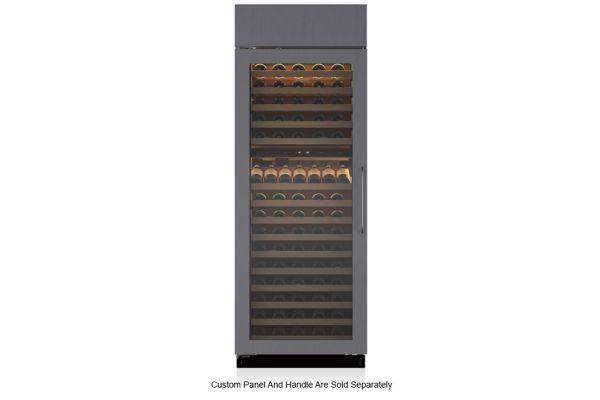 """Large image of Sub-Zero 30"""" Left Hinge Built-In Panel Ready Wine Refrigerator - BW30OLH"""