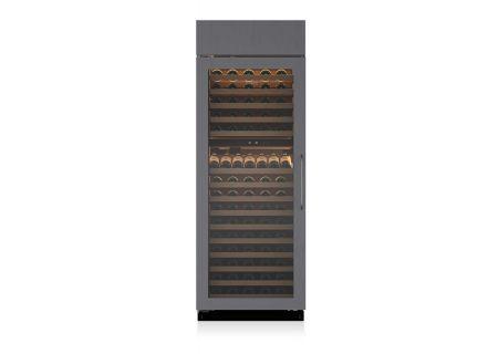 "Sub-Zero 30"" Left Hinge Built-In Panel Ready Wine Refrigerator - BW30OLH"