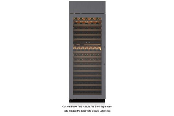 "Large image of Sub-Zero 30"" Right Hinge Built-In Panel Ready Wine Refrigerator - BW30ORH"
