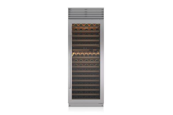 "Large image of Sub-Zero 30"" Right Hinge Built-In Wine Refrigerator - BW30SPHRH"